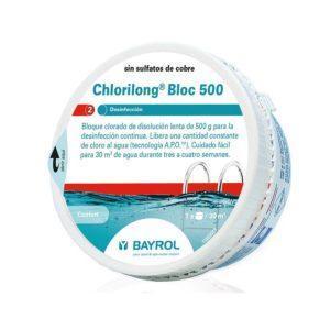 Chlorilong ® Bloc 500. Bloque de cloro de disolución lenta