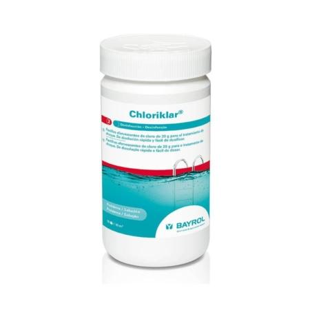Chloriklar ® con cápsula clorodor control ® Pastillas everfecentes de cloro para tratamiento de choque