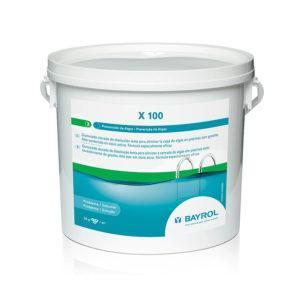 X 100. Granulado clorado antialgas