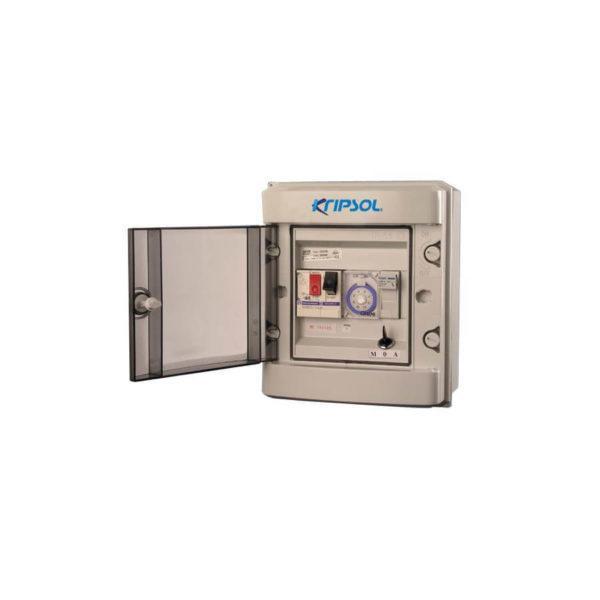 080101102500p Cuadro para maniobra monofásico para filtración Kripsol