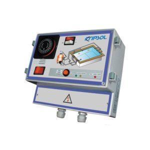 Cuadro electronico para filtración e iluminación con rearme automático