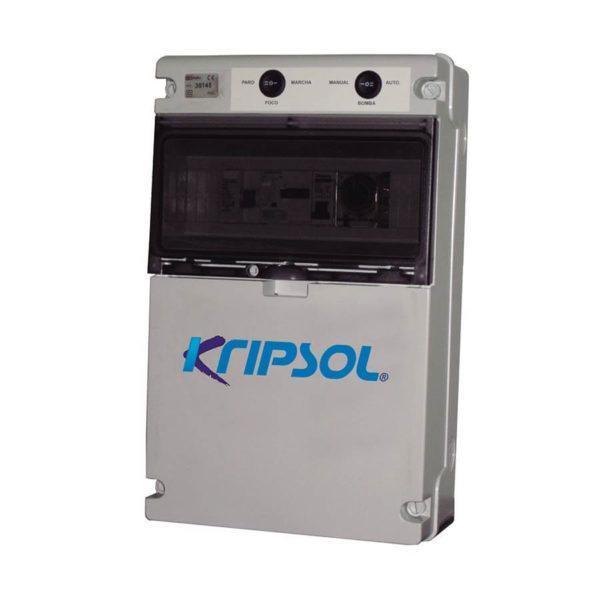080104102503p Cuadro para maniobra monofásico para filtración e iluminación Kripsol