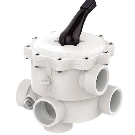 022652p Válvula selectora 6 vías montaje lateral SM Praher