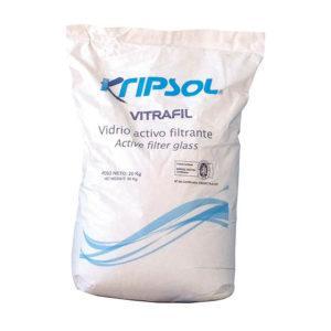 Vidrio activo filtrante Vitrafil