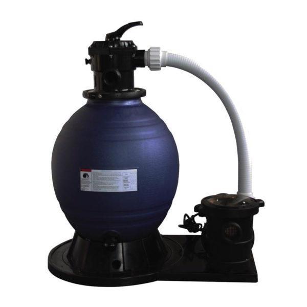 022016 Monobloc Dpool con filtro Ø450 + bomba 6 m3/h Dpool