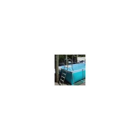 IAES110 Escalera piscina desmontable inox IASO