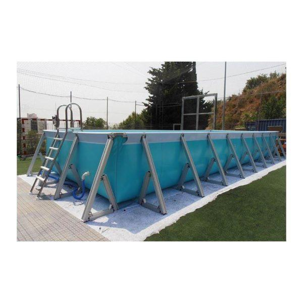PLUS-1 Piscina desmontable rectangular  Plus IASO
