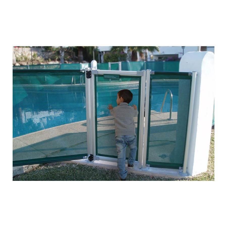 Modulo de 5 m con puerta para valla piscina Flash N