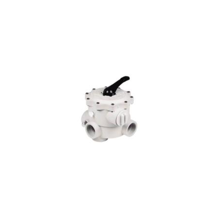 023207p Válvula selectora 6 vías montaje lateral SM Praher