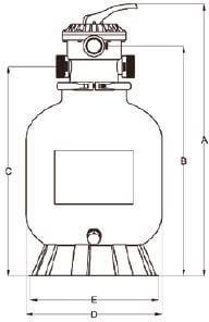 Filtro T3 válvula Top