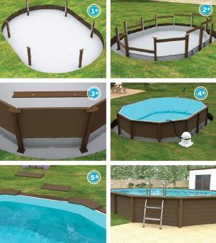 Construya su propia piscina