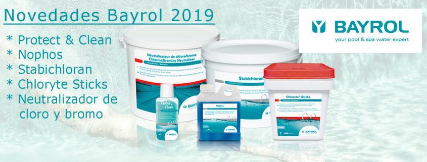 Novedades Bayrol 2019