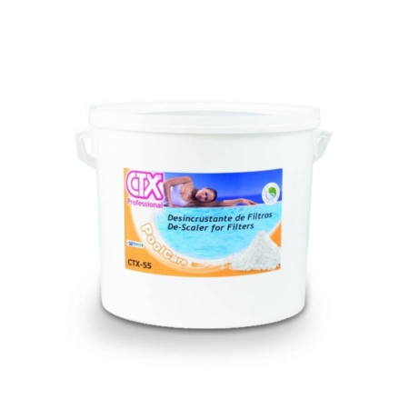 03127 CTX 55 Desincrustante sólido de filtros CTX