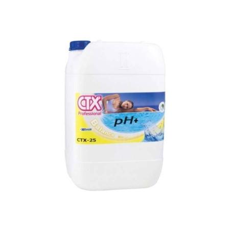 17182 CTX 25 Incrementador de pH- pH plus liquido 20 l. CTX