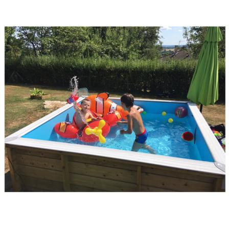 Mini piscina elevada madera Pistoche 226x226 cm